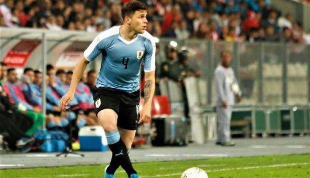 Giovanni González - Uruguay vs. Perú - Foto: @Uruguay.