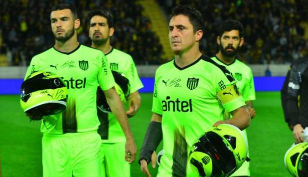 La camiseta homenaje a Gonzalo Rodríguez. Foto: Gerardo Pérez.