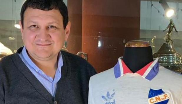 Luis Sánchez, integrante de la Comisión de Historia de Nacional.