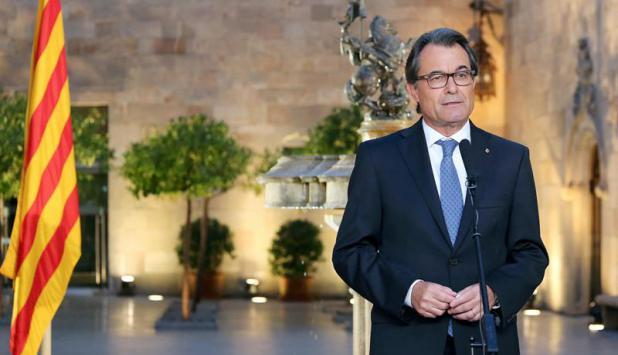 El presidente de la Generalitat de Cataluña, Artur Mas, llamó a elecciones. Foto: EFE