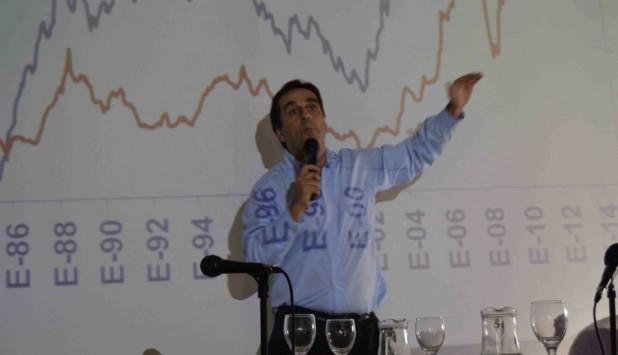 Aldo Lema dijo que el súper ciclo de precios llegó a su fin. Foto: Daniel Rojas