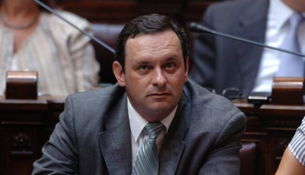 Diputado del Partido Nacional, Álvaro Delgado.