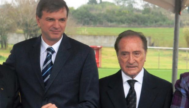 Juntos. Bauzá y Figueredo, hombres FIFA en la Conmebol. Foto: Archivo El País.