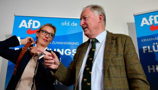 La ultraderecha sería una de las sorpresas de estas elecciones en Alemania. Foto: AFP