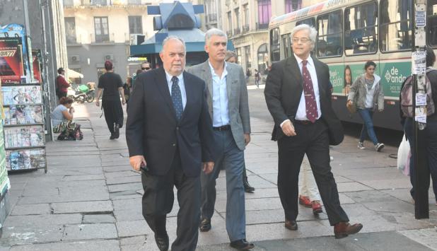 Jaime Trobo, Rodrigo Goñi y Gonzalo Mujica. Foto: F. Flores