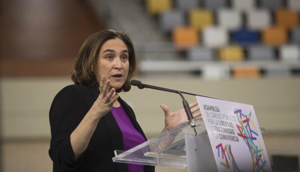Ada Colau, alcaldesa de Barcelona. Foto: Efe.