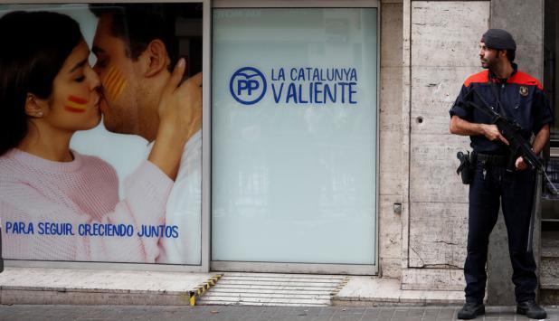 Sede del PP de Barcelona. Foto: Reuters