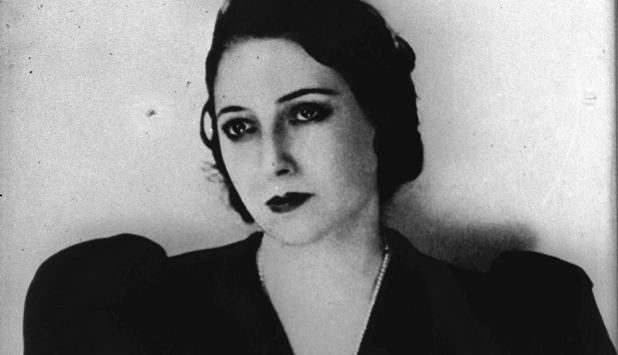 Juana de Ibarbourou. Foto: Archivo.