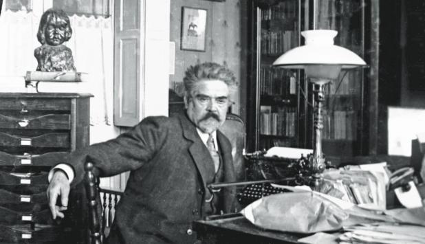 Juan Zorrilla de San Martín. Foto: Archivo El País.