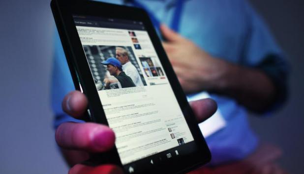 Amazon Kindle. Foto: AFP
