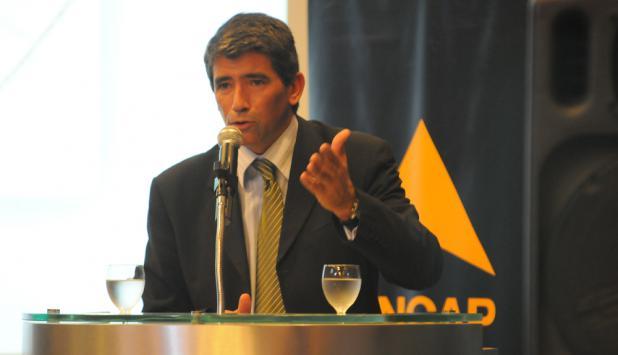 Raúl Sendic en Ancap. Foto: D. Borrelli