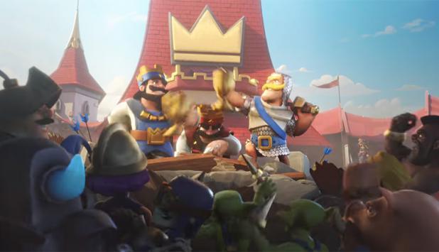 Clash Royale. Foto: YouTube