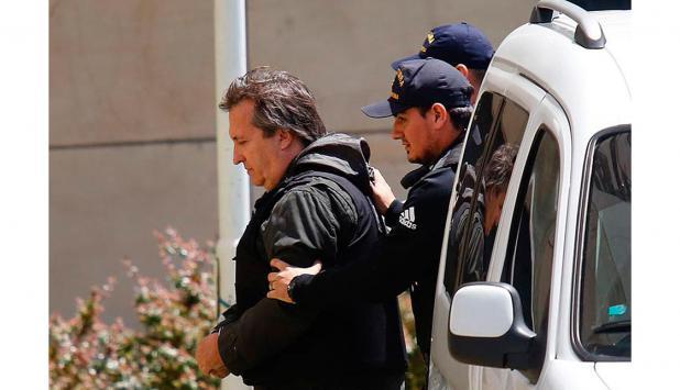 Núñez Carmona, socio y amigo de Boudou, es detenido. foto: La Nación   GDA