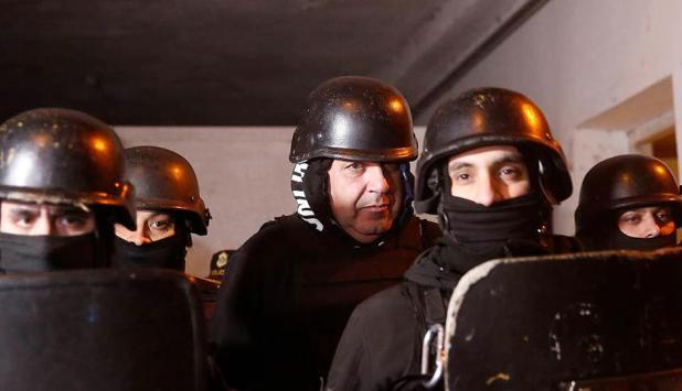 Luego de estar prófugo durante 9 meses, fue detenido en Chapadmalal, el cuñado de De Vido. Foto: Mauro V. Rizzi. Foto: La Nación   GDA