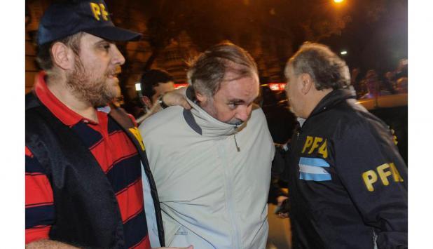 El contador arrestado en la causa por lavado de dinero en la financiera SGI. Foto: La Nación   GDA