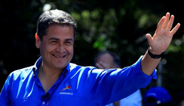 Juan Orlando Hernández. Foto: Reuters