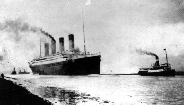 Titanic. Foto: AP
