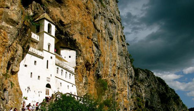 Monasterio Ostrog. Foto: montenegro.travel