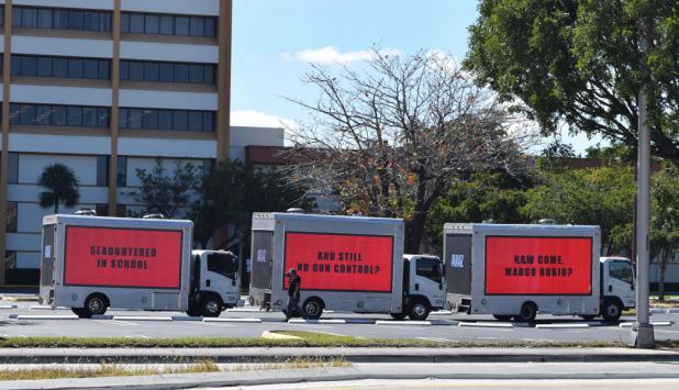 """""""Masacre en una escuela"""". Y no hay control de armas: ¿Por qué Marco Rubio?. Foto: EFE"""