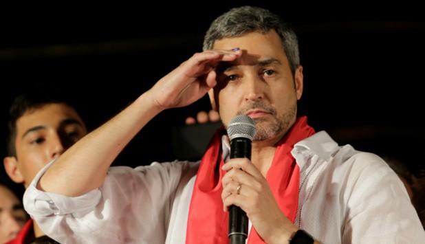 Mario Abdo Benítez fue electo presidente de Paraguay. Foto: Reuters.