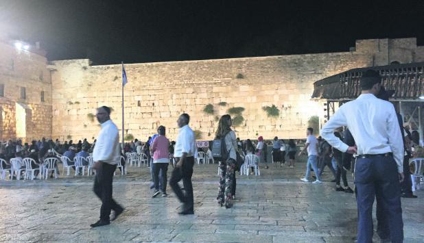 Historia: el Muro de los Lamentos en Jerusalém. Foto: El País