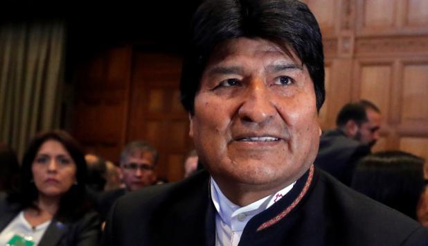 Evo Morales. Foto: Reuters
