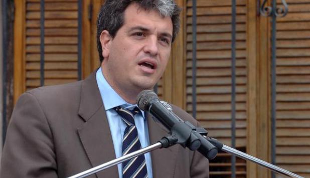 Juan Curbelo, integrante del sector Todos: Foto: Difusión