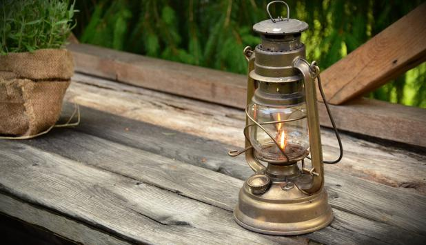 Luz de queroseno. Foto: Pixabay