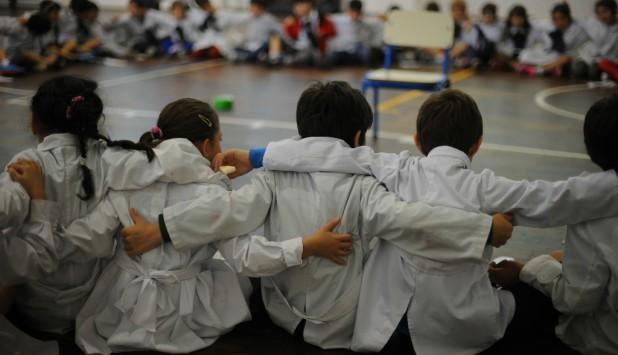 Repetición se sigue concentrando en primer grado y baja a medida que escolares avanzan. Foto: F. Ponzetto