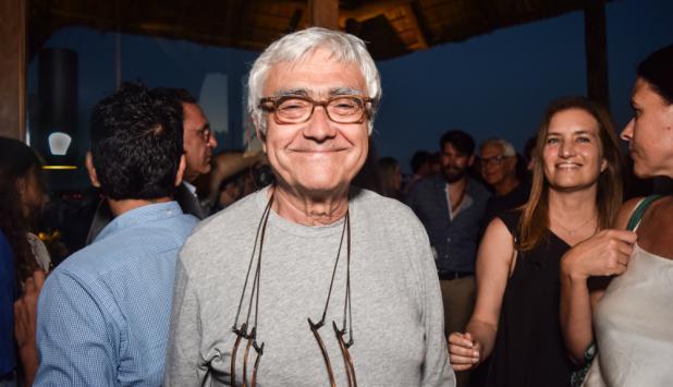 Viñoly en la presentación del proyecto del Cipriani Ocean Resort and Club Residences. Foto: Ricardo Figueredo.
