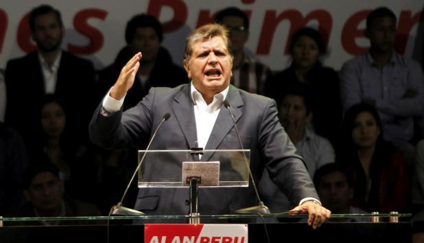 Alan García. Foto: Reuters