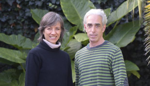 Chabela y Juan, docentes de DanceAbility