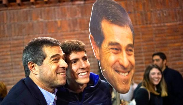 Ernesto Talvi, candidato a la Presidencia por el Partido Colorado. Foto: Reuters