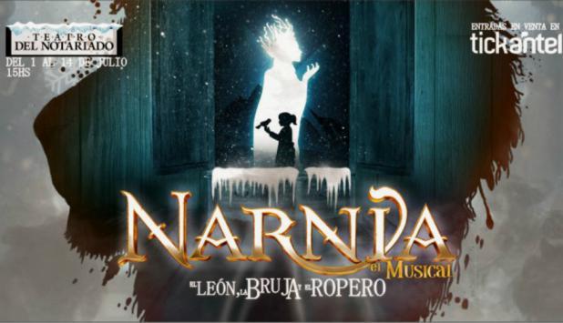 Las crónicas de Narnia: el musical. Foto: Difusión.