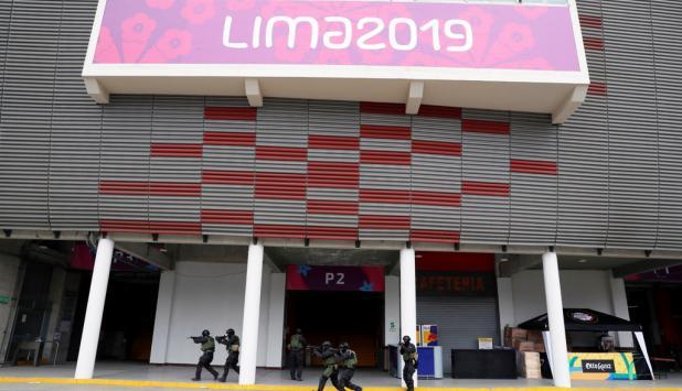 Sseguridad en Juegos Panamericanos de Lima