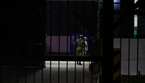 Hallazgo de restos humanos en Batallón 13