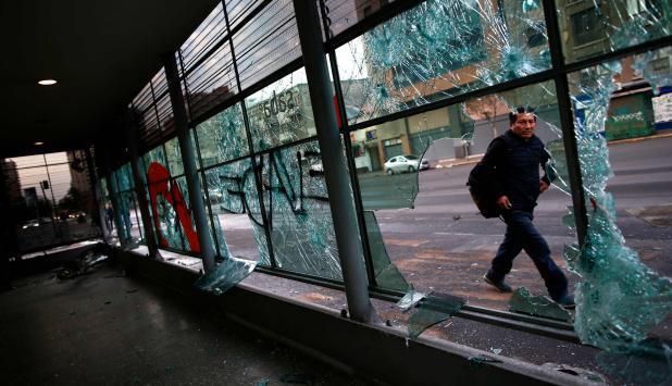 Santiago de Chile. Foto: AFP