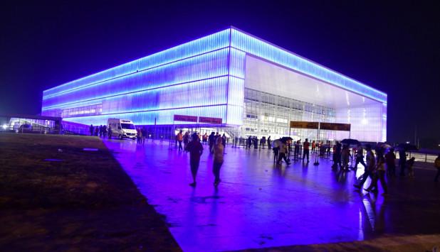 El estadio multifunción Antel Arena apuntala la propuesta de la empresa.