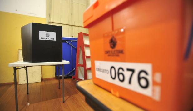 Urnas de la Corte Electoral durante las elecciones de noviembre 2019. Foto: Darwin Borrelli