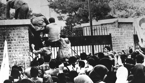 Secuestro de embajada de Estados Unidos en Teheran. Foto: Archivo El País