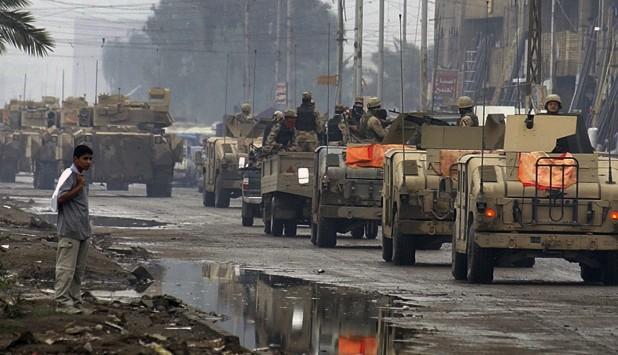 Militares de Estados Unidos desplegados en Irak. Foto: Archivo El País