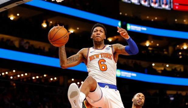 New York Knicks contra Atlanta Hawks. Foto: AFP.