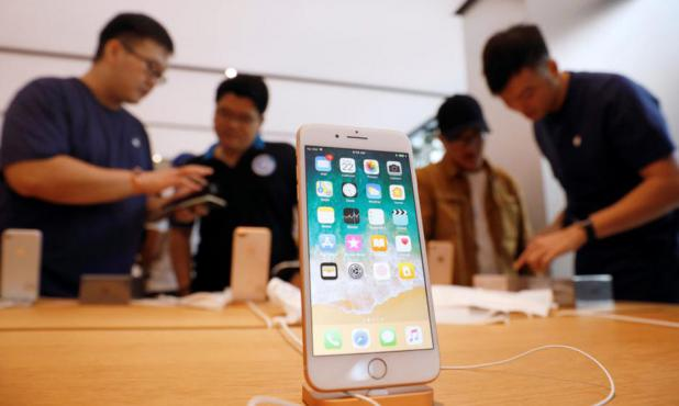 El 19 de septiembre comenzó la descarga oficial del iOS 11. Foto: Reuters