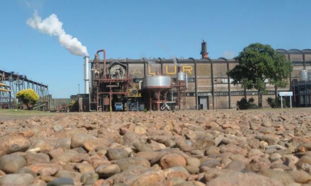 ALUR está en proceso de negociación con la empresa Abengoa  que edificó la planta. Foto: presidencia.gub.uy