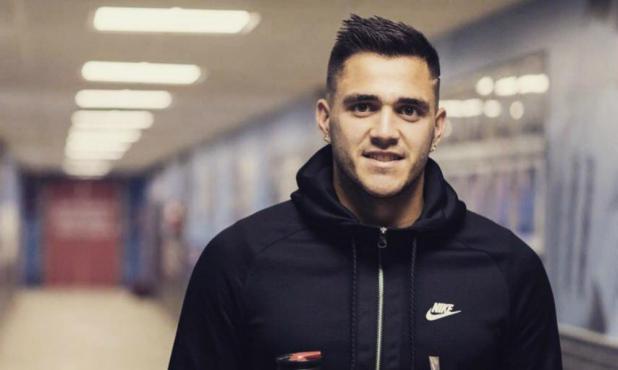 Maxi Gómez está feliz por su gran momento deportivo