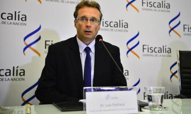Luis Pacheco en conferencia de prensa. Foto: Gerardo Pérez