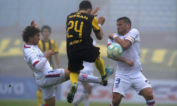 Nacional y Peñarol empataron en el clásico del apertura en el Estadio Centenario. Foto: Gerardo Pérez / El País