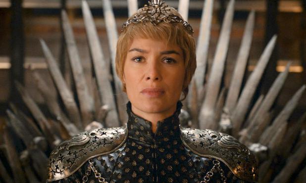 Cersei Lannister (Lena Headey/, en el Trono. Foto: Difusión