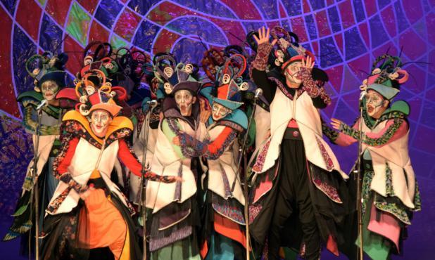 La Gran Muñeca en el Teatro de Verano .Foto: Ana Laura de Britos