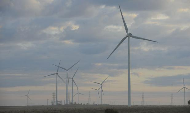 Eólica: la oferta bruta de esta fuente de energía creció 400% el año pasado. Foto: D. Borrelli.